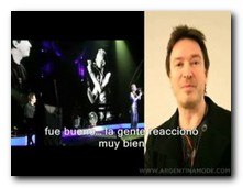 Entrevista a Alan Wilder sobre Royal Albert Hall